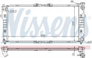 Радиатор охлаждения двигателя NISSENS 62392A