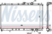 Радиатор охлаждения двигателя NISSENS 62839