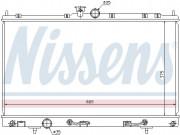 Радиатор охлаждения двигателя NISSENS 62894