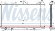 Радиатор охлаждения двигателя NISSENS 62927A