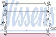 Радиатор охлаждения двигателя NISSENS 630716