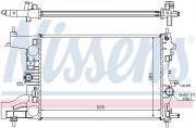 Радиатор охлаждения двигателя NISSENS 630725