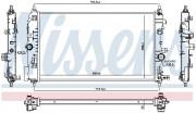 Радиатор охлаждения двигателя NISSENS 630763