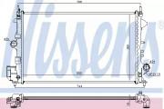 Радиатор охлаждения двигателя NISSENS 63123