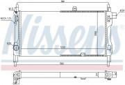 Радиатор охлаждения двигателя NISSENS 632381