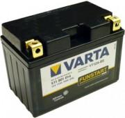 Аккумуляторная батарея Varta 511901014 (YT12A-4 YT12A-BS) 11 А/Ч (Левый +)