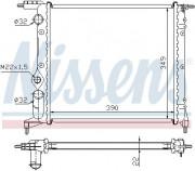 Радиатор охлаждения двигателя NISSENS 639271