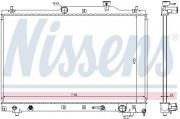 Радиатор охлаждения двигателя NISSENS 64657