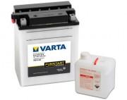Аккумуляторная батарея Varta 514012014 (YB14-A2) 14 А/Ч (Левый +)