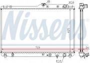 Радиатор охлаждения двигателя NISSENS 647721