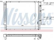 Радиатор охлаждения двигателя NISSENS 65523A