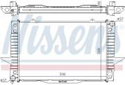 Радиатор охлаждения двигателя NISSENS 65536A