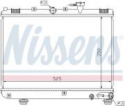 Радиатор охлаждения двигателя NISSENS 66624