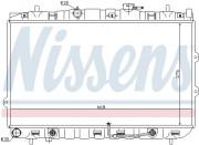 Радиатор охлаждения двигателя NISSENS 66649