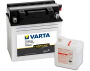 Аккумуляторная батарея Varta 519014018 (YB16CL-B) 19 А/Ч (Правый +)