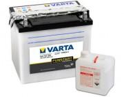Аккумуляторная батарея Varta 524101020 (12N24-4) 24 А/Ч (Левый +)