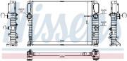 Радиатор охлаждения двигателя NISSENS 67105