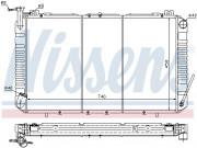 Радиатор охлаждения двигателя NISSENS 67327