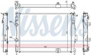 Радиатор охлаждения двигателя NISSENS 67367