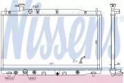 Радиатор охлаждения двигателя NISSENS 681372