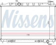 Радиатор охлаждения двигателя NISSENS 68712
