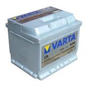 Аккумуляторная батарея VARTA C6 SILVER dynamic 552401052 52 А/Ч (Правый+)