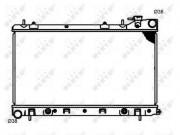 Радиатор охлаждения двигателя NRF 53597