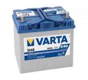 Аккумуляторная батарея VARTA D48 BLUE dynamic 560411054 60 А/Ч (Левый+)