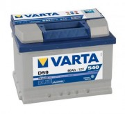 Аккумуляторная батарея VARTA D59 BLUE dynamic 560409054 60 А/Ч (Правый+)