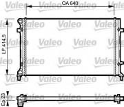 Радиатор охлаждения двигателя VALEO 734332