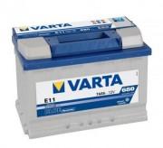 Аккумуляторная батарея VARTA E11 BLUE dynamic 574012068 74 А/Ч (Правый+)