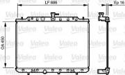 Радиатор охлаждения двигателя VALEO 735205