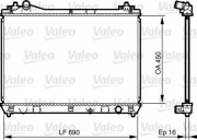 Радиатор охлаждения двигателя VALEO 735433