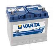 Аккумуляторная батарея VARTA E23 BLUE dynamic 570412063 70 А/Ч (Правый+)