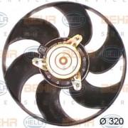 Вентилятор охлаждения радиатора HELLA 8EW 351 044-161