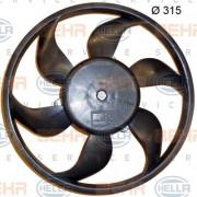 Вентилятор охлаждения радиатора HELLA 8EW 351 150-204