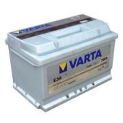 Аккумуляторная батарея VARTA E38 SILVER dynamic 574402075 74 А/Ч (Правый+)