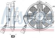 Вентилятор охлаждения радиатора NISSENS 85547