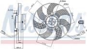 Вентилятор охлаждения радиатора NISSENS 85680
