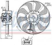Вентилятор охлаждения радиатора NISSENS 85684