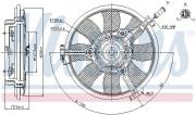 Вентилятор охлаждения радиатора NISSENS 85691