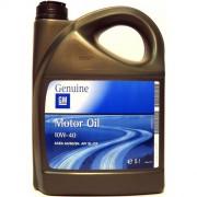 Полусинтетическое оригинальное моторное масло GM 10W-40