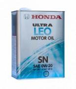Оригинальное моторное масло Honda Ultra LEO GF-5 SN 0w20 08217-99974 (Japan)