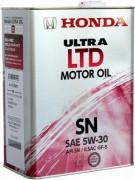 Оригинальное моторное масло Honda Ultra LTD GF-5 SN 5w30 08218-99974 (Japan)