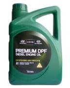Оригинальное моторное масло Hyundai / KIA Premium DPF Diesel 5w30 C3 05200-00620 (05200-00120) (Korea)