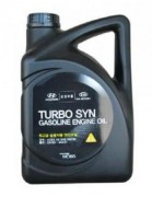 Оригинальное моторное масло Hyundai / KIA Turbo SYN Gasoline 5w30 SM 05100-00441 (05100-00141)