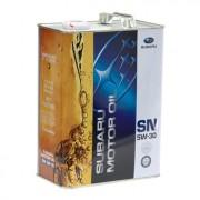 Оригинальное моторное масло Subaru Motor Oil SN 5w30 (FIG-6216-20T1L, K0215-Y0273) Japan