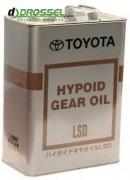 Оригинальное трансмиссионное масло Toyota Hypoid Gear Oil LSD 85w-90 GL-5 08885-00305