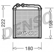 Радиатор печки DENSO DRR32005