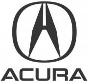 Заднее левое дверное стекло Acura MDX 73450-STX-A01 (оригинальное)